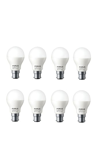 7W B22 LED Bulb (Cool Daylight, Pack Of 8)