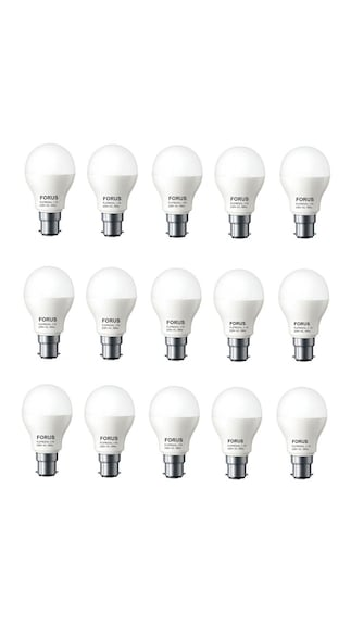 7W-B22D-LED-Bulb-(White,-Pack-Of-15)