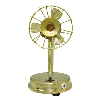 Frabjous Handcrafted Brass Mini Table Fan available at Paytm for Rs.369