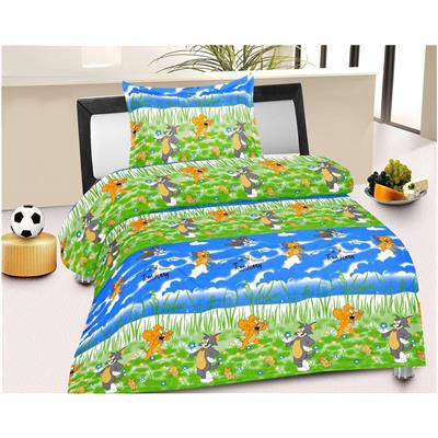 Fresh From Loom Cotton 1 Single Bed Sheet with 1 Pillow Covers