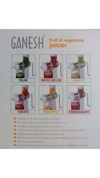 Ganesh-Fruits-&-Vegetable-Juicer