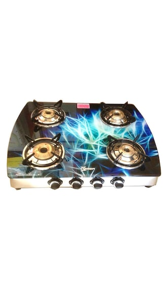 Crystal-4-Burner-Gas-Cooktop