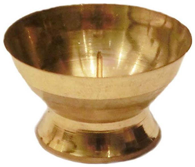 Gifts & Decor Dhoop Batti Stand in Brass