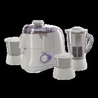 Glen GL 4015 JMG 500 W Juicer Mixer Grinder (White/3 Jar)