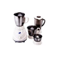 Glen GL-4022 Plus 750 W Mixer Grinder (White/4 Jar)