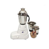 Glen GL-4025 550 W Mixer Grinder (White/3 Jar)