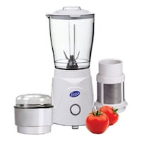 Glen GL-4045-BG 350 W Mixer Grinder (White/3 Jar)