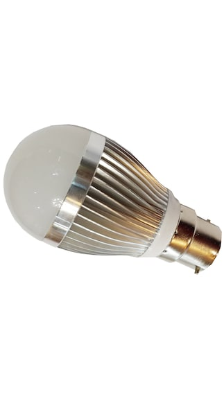 Aluminium-Body-3W-LED-Bulb-(Cool-White)