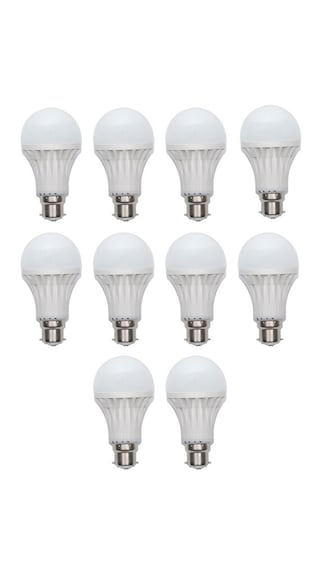 11-Watt-Led-Bulb-(White,-Pack-Of-10)