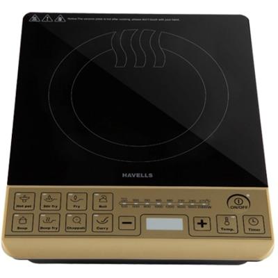 Havells Insta Cook ST-X 2000 Watt Induction Cooktop (Black & Golden)