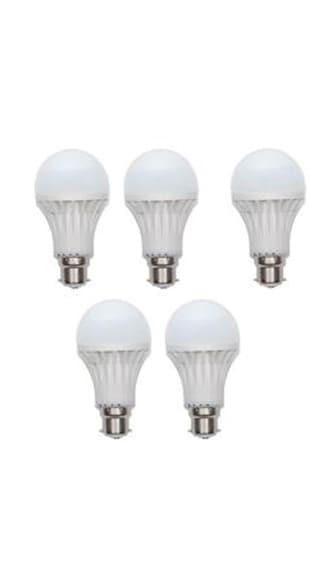Kalash-Gold-9W-LED-Bulb(White,-Pack-Of-5)
