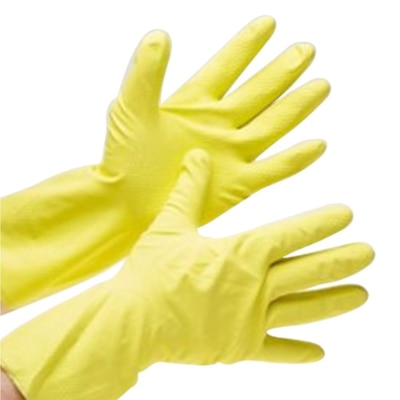 Healthgenie Flocklined House Hold Glove Extra Large 1 Pair