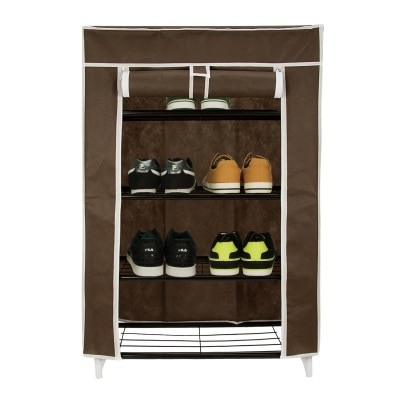 Home creations Collapsible Storage Cabinet & Shoe Rack Wardrobe