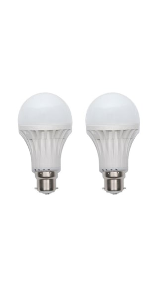 3W-Plastic-White-LED-Bulb-(Pack-Of-2)-