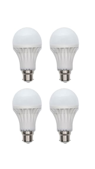Jmt-Plus-3W-Plastic-White-LED-Bulb-(Pack-Of-4)