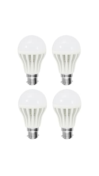Gold-9W-LED-Bulb(White,-Pack-Of-4)