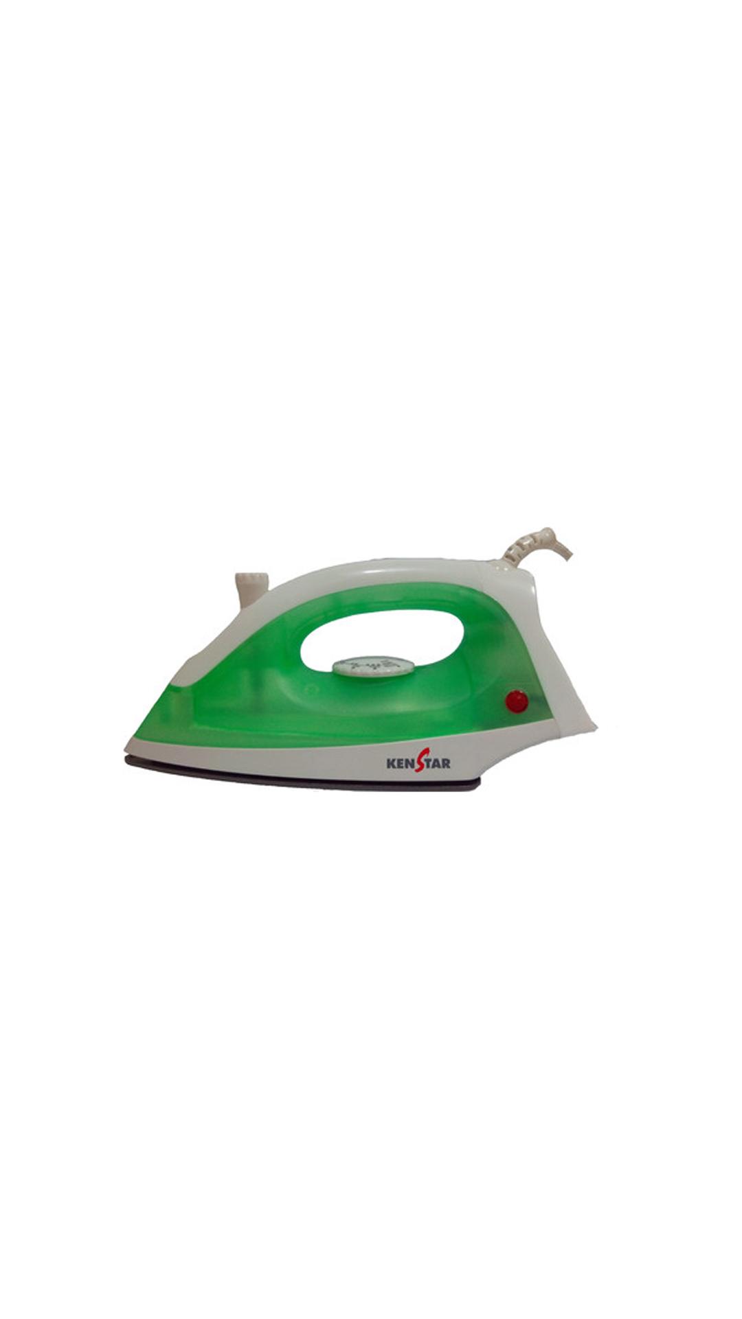 Kenstar Shiney 1200 W Steam Iron (White & Green)