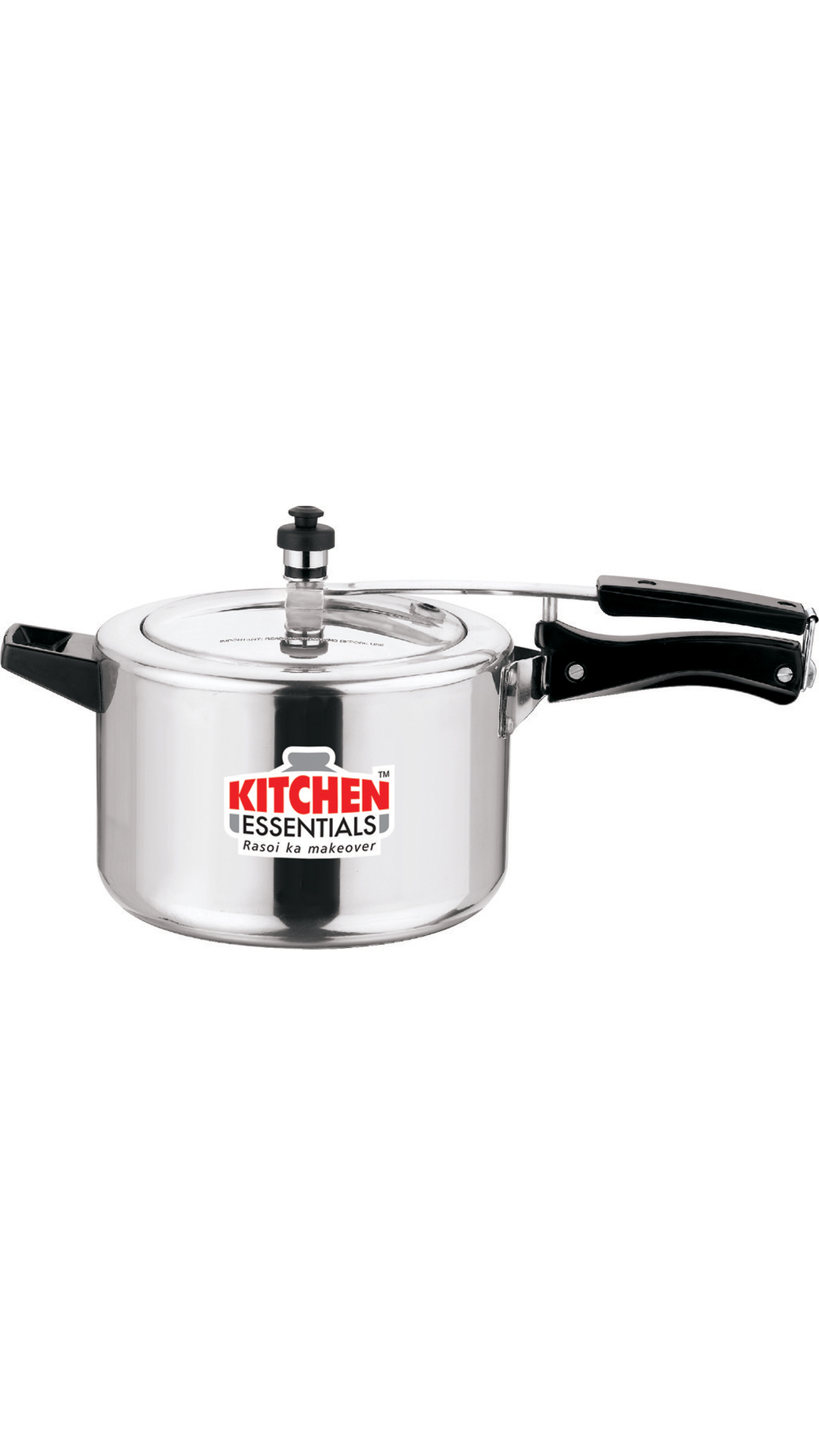 Kitchen Essentials Kalash Hard Anodised Pressure Cooker Inner Lid -3.5 Litre