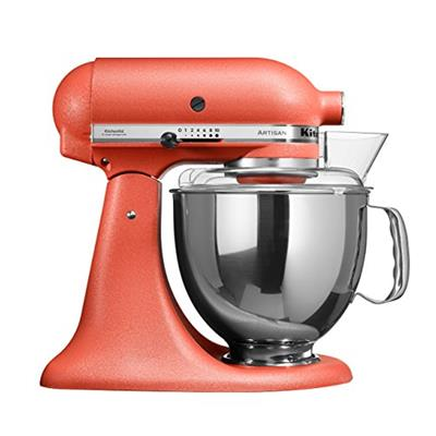 KitchenAid Stand Mixer is available in a range of colours which includes Raspberry Ice, Candy Apple, Empire Red, Tangerine, Onyx Black, Sugar Pearl and others. Price: .