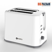 Koryo By Big Bazaar KPT926 Pop Up toaster Grey