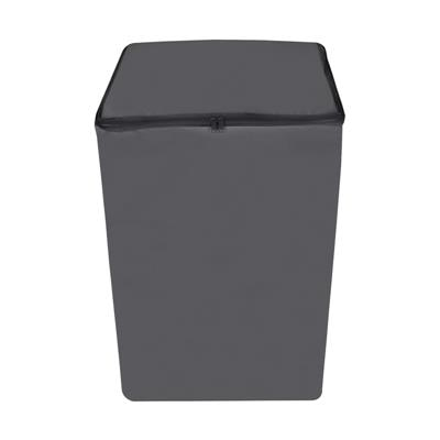 Lithara Grey Colored Washing Machine Cover for Fully Automatic (Top load) 7 to 7.5kg