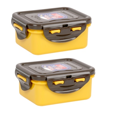 LOCK&Lock Yellow Food Container