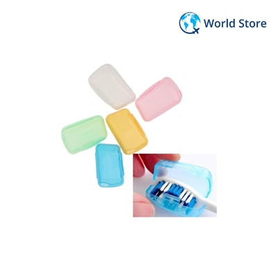 Magideal 5pcs/Set Portable Travel Toothbrush Head Cover Case Protective Caps...