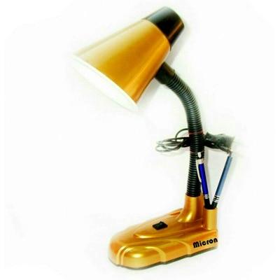 Micron Yellow Round Head Study Table Lamp With Free 5 Watt LED Bulb