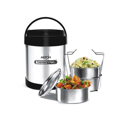 Milton Royal Tiffin With 3 Containers Lunch Box
