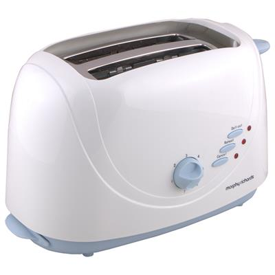 Morphy Richards AT204 2 Slice Pop Up Toaster (White)