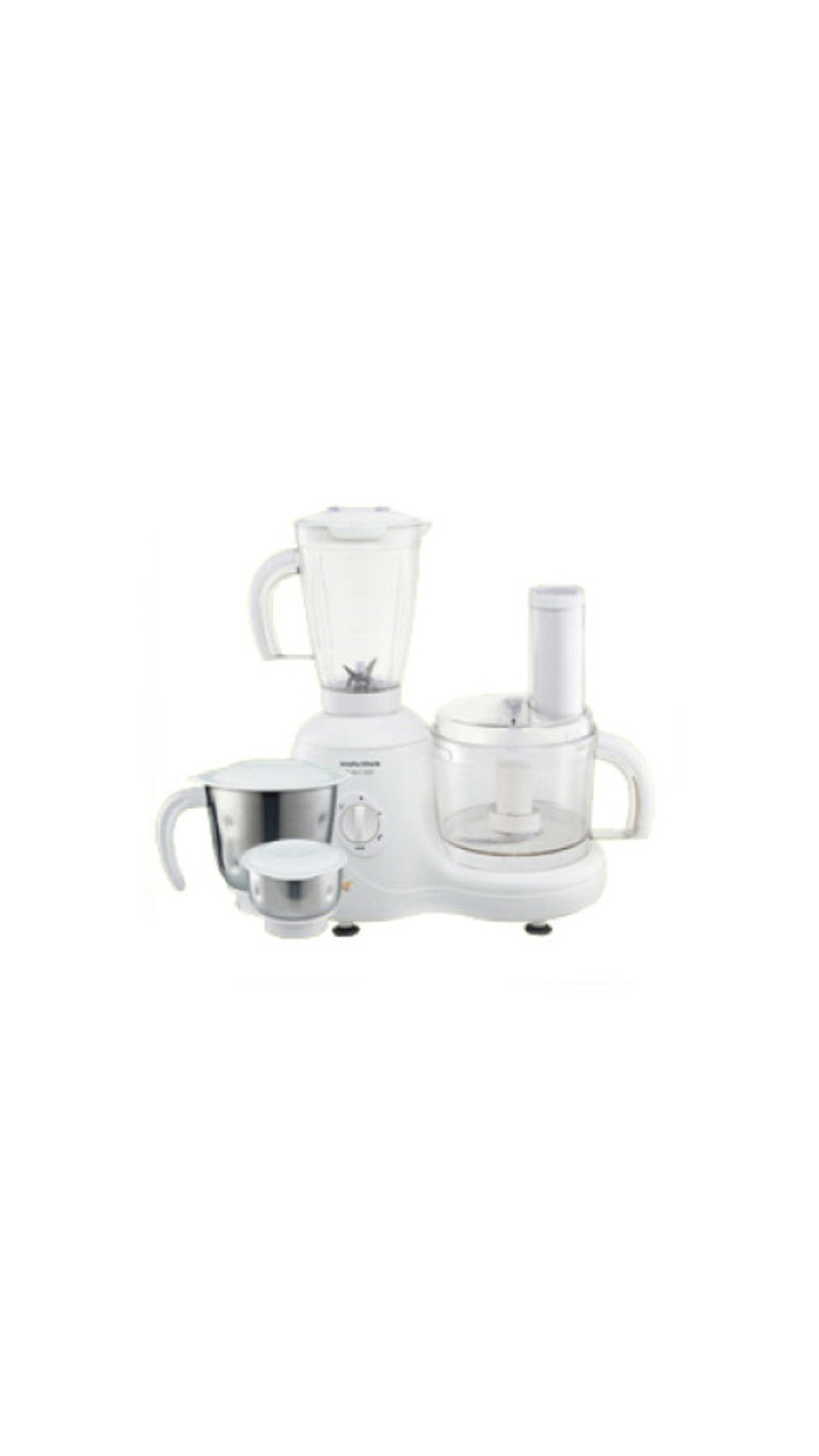 Morphy Richards Select-600 600 W Food Processor (White)