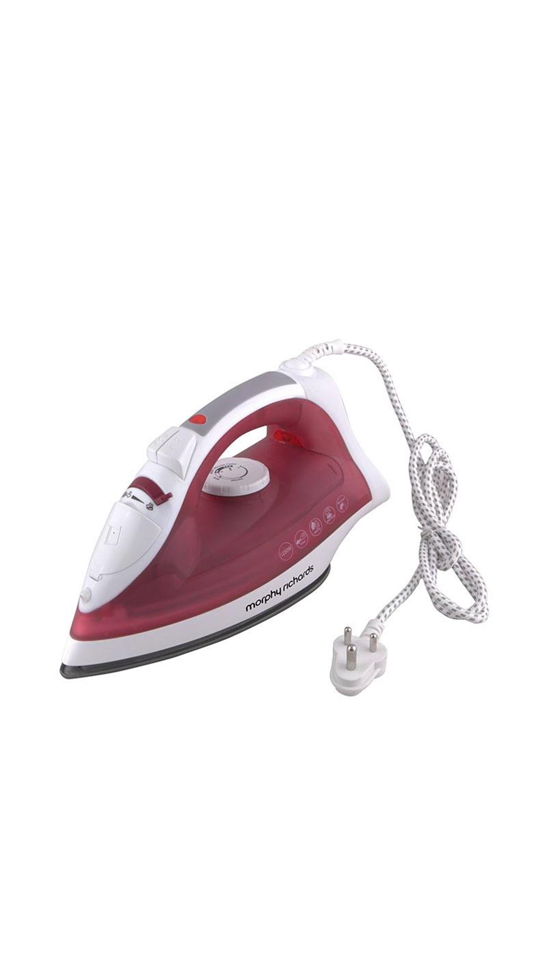 Morphy Richards Glide Steam Iron (Wine Red)