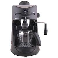 Morphy Richards Europa Espresso/Cappuccino CM 4 Cups Coffee Maker (Black)