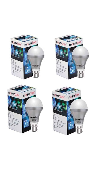 5-W-And-7-W-Pin-Type-Led-White-Bulbs-(-Pack-Of-4)