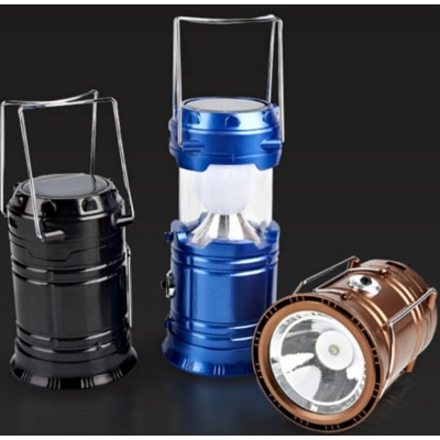 New Solar camping led lantern with power bank, USB Rechargeable...