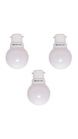 0.5W-LED-Bulbs-(White,-Pack-of-3)