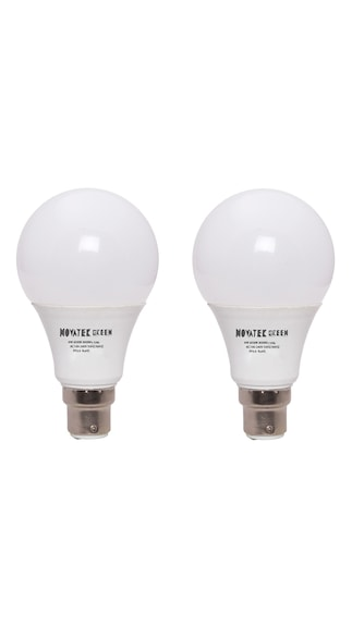 NOVATEK-GREEN-9W-LED-Bulb-(Cool-White,-Pack-of-2)
