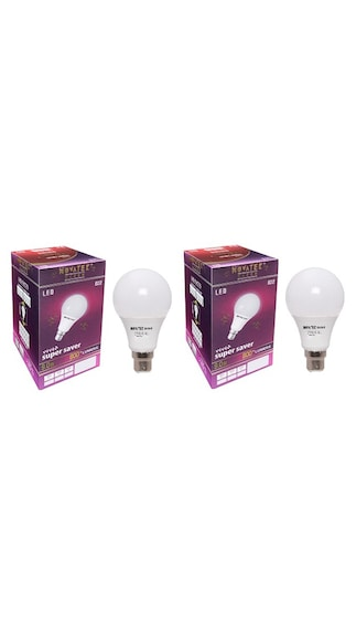 9W LED Bulb (Cool White, Pack of 2)