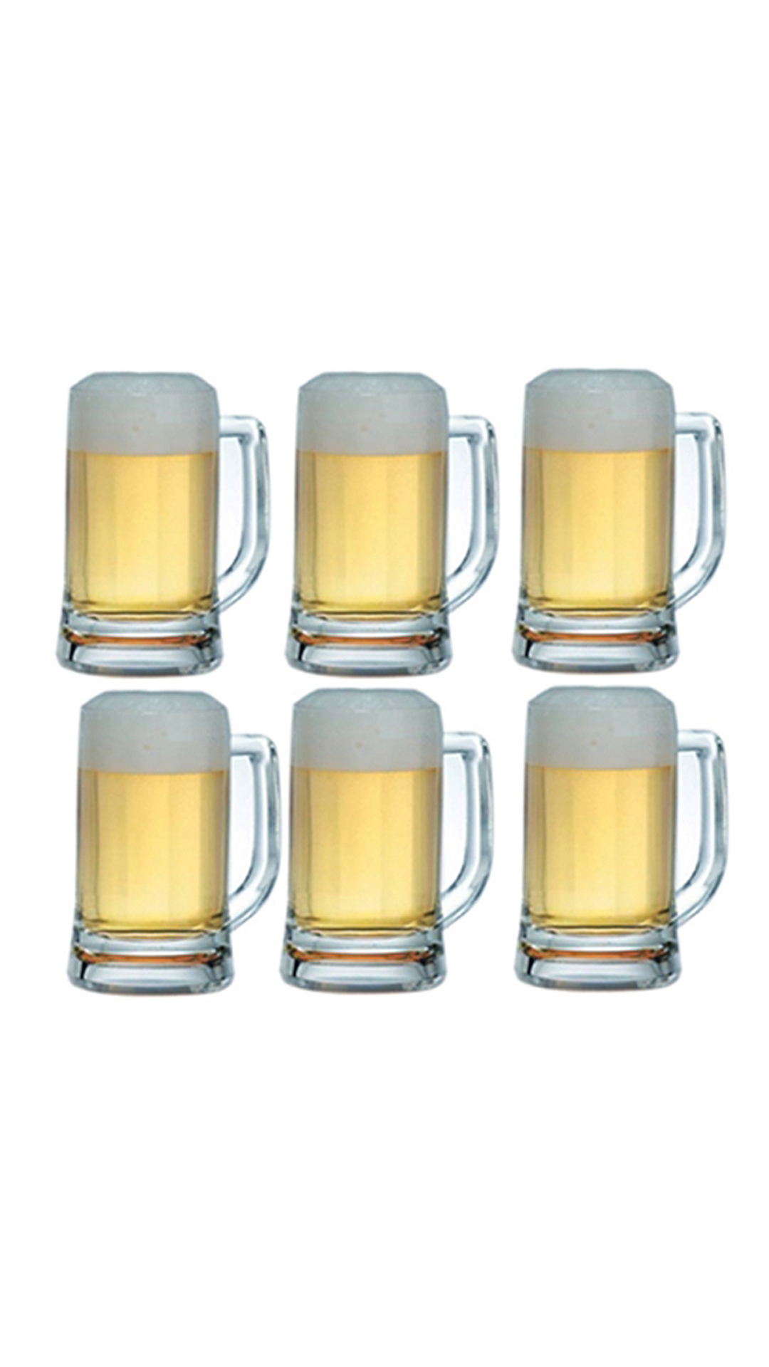 ocean munich beer mug set of 6