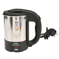 Orbit Cuty 0.5 L Electric Kettle (Black & Silver)