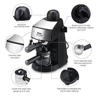 ORBIT EM-2410 4 cups Coffee Maker (Black)