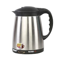Orbit Nano X 1.2 L Electric Kettle (Black & Silver)
