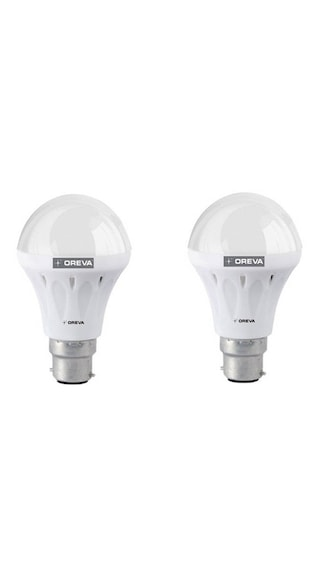 Oreva-10w-Eco-LED-White-Bulb-(Pack-of-2)