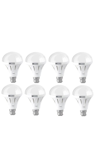 Ace-Saver-7W-LED-Bulb-(Crystal-White,-Pack-of-8)-