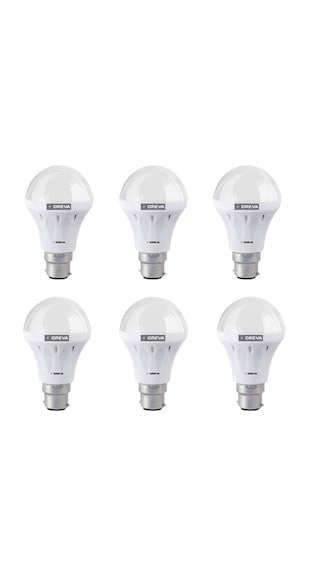8W-White-Led-Bulb(Pack-Of-6)-