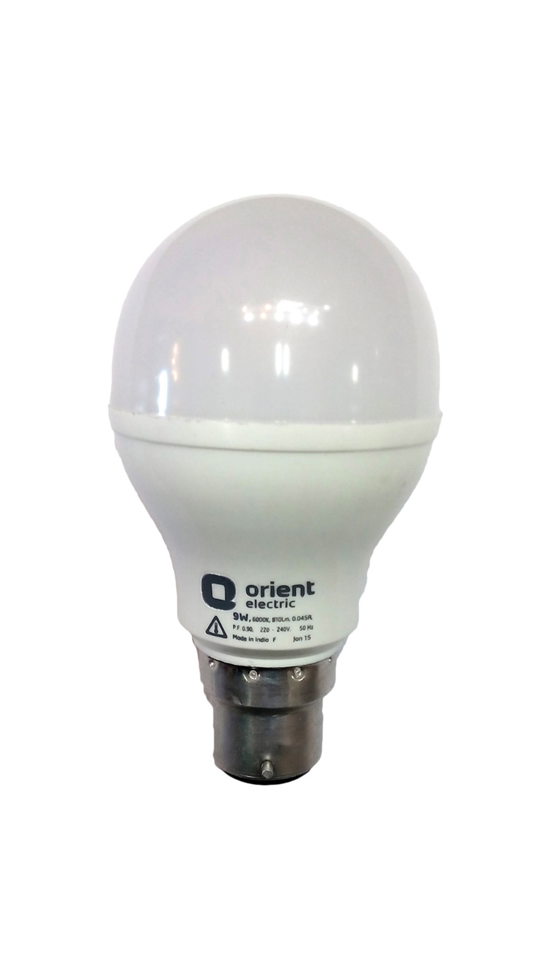 Electric-9W-Plastic-LED-Bulb-(White)