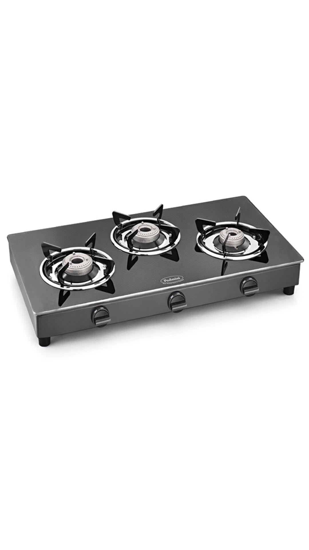 CS-3GT Prima 3 Burner Gas Cooktop