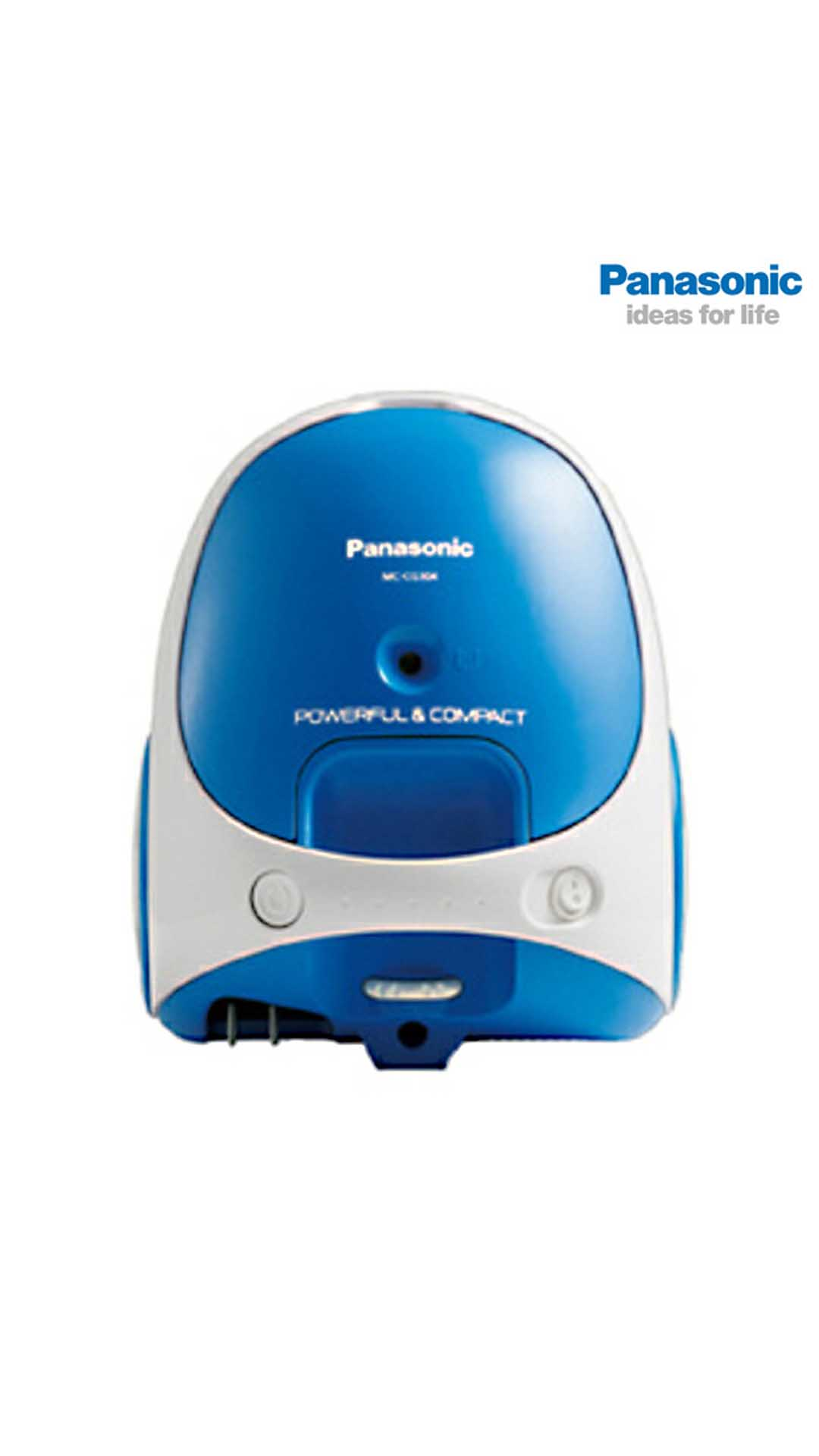 Panasonic CG-304 Dry Vacuum Cleaner (Blue & White)