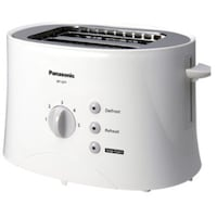 Panasonic NT GP1 2 Slice Pop Up Toaster (White)