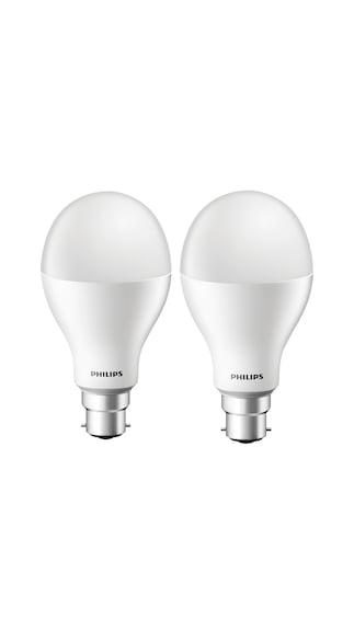 Philips-15W-B22-LED-Bulb-(White,-Pack-Of-2-)